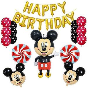 BALLON DÉCORATIF  mickey mouse anniversaire décorations articles de