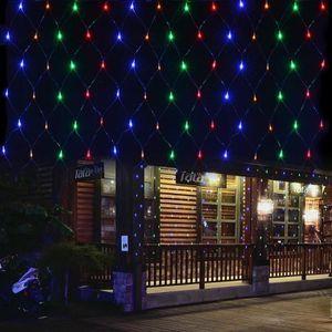 GUIRLANDE LUMINEUSE INT MULTICOLORE 2*3M 220V 200 LEDs Guirlande Lumineuse