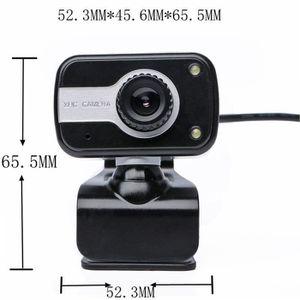 WEBCAM 2 LED USB 2.0 caméra webcam HD cam web avec microp