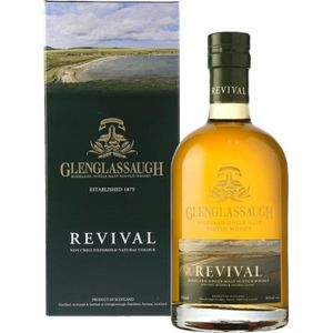 WHISKY BOURBON SCOTCH Liqueur (ou Alcool) - Glenglassaugh Revival Scotch