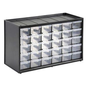 MEUBLE A CASIER Casier de Rangement avec 30 Compartiments , Multic