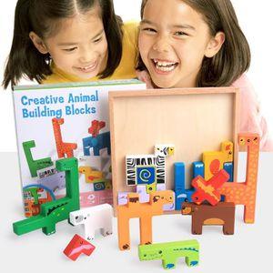 PUZZLE Conseil du bâtiment 3D Block Puzzle Enfant Jouets