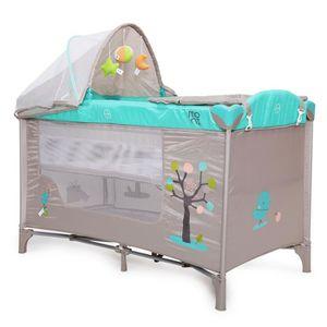 LIT PLIANT   Lit parapluie bébé / Lit pliant à 2 niveaux FRIEN