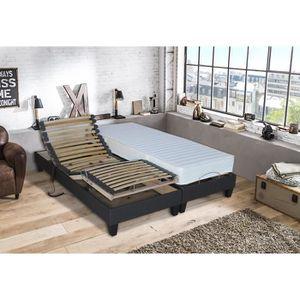 ENSEMBLE LITERIE Ensemble relaxation 100% latex 3 zones 63kg-m3 + s