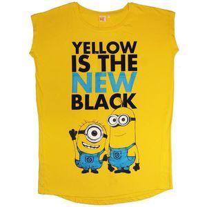 T-SHIRT LES MINIONS BIG T-shirt Femme - Jaune