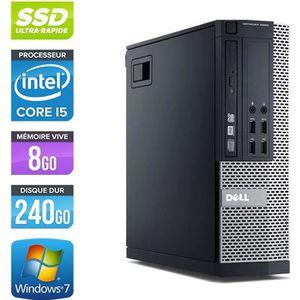 UNITÉ CENTRALE  Pc de bureau Dell 7010 SFF -Core i5-3470 3,2GHz -8