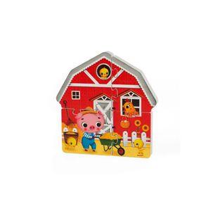 PUZZLE Coffret 4 puzzles 3d ferme