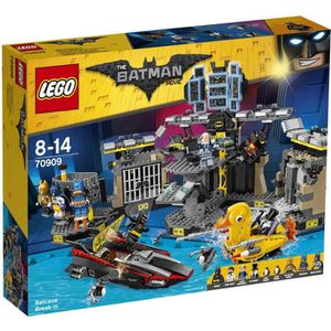 ASSEMBLAGE CONSTRUCTION LEGO® Batman Movie 70909 Le Cambriolage de la Batc
