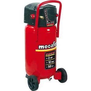 COMPRESSEUR MECAFER Compresseur d'air vertical 50 L sans huile