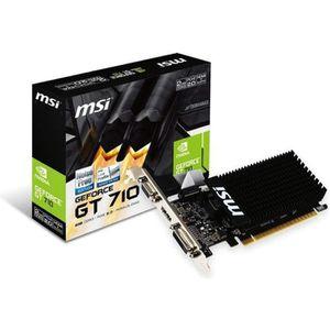 CARTE GRAPHIQUE INTERNE MSI GT 710 2GD3H LP Carte Graphique Nvidia GT710 9