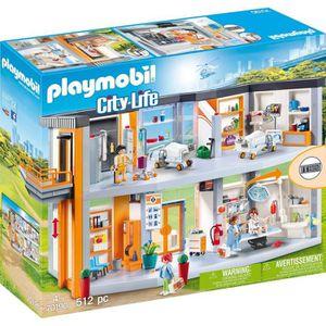 UNIVERS MINIATURE PLAYMOBIL 70190 - City Life - Hôpital aménagé  - N