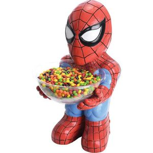 Décors de table SPIDERMAN Halloween Pot à Bonbons 50 cms