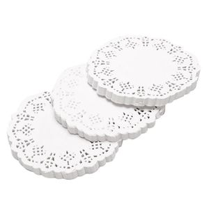 Napperon rond 50 pcs env 34 CM vert table napperons place tapis de table tapis