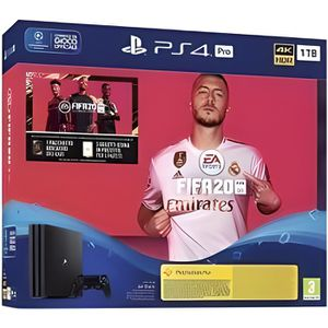 CONSOLE PS4 Console Playstation Ps4 Pro 1 To + Jeu Fifa 20