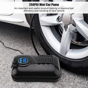 COMPRESSEUR AUTO 250PSI Mini compresseur d'air gonfleur de pneu de