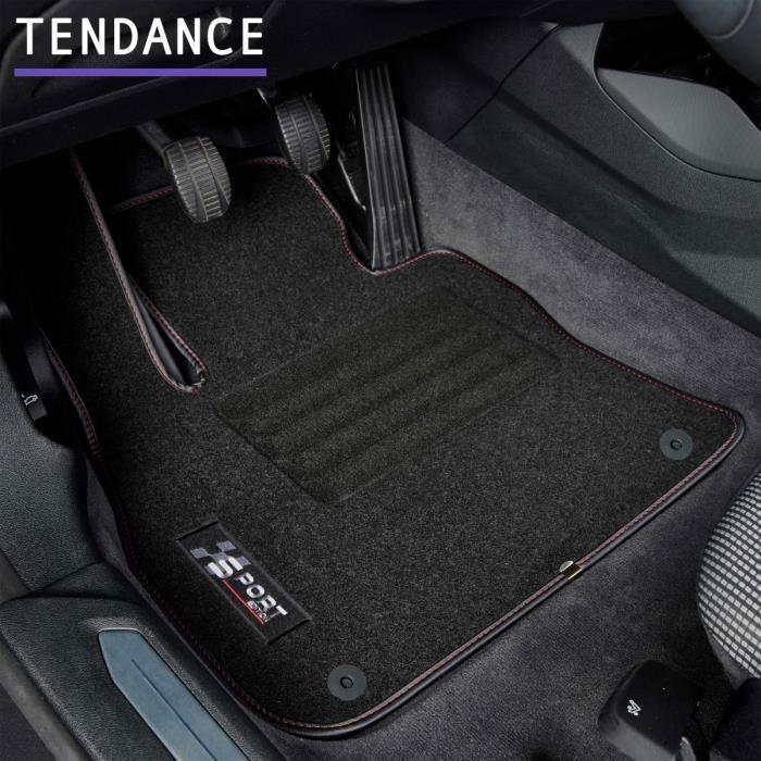 Tapis de voiture - Sur Mesure pour MOKKA (2012 - 2020) - 4 pièces - Tapis de sol antidérapant pour automobile
