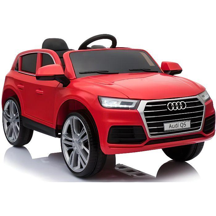 Audi Q5 officielle 12v Rouge - Voiture électrique pour enfant avec batterie 12v et télécommande