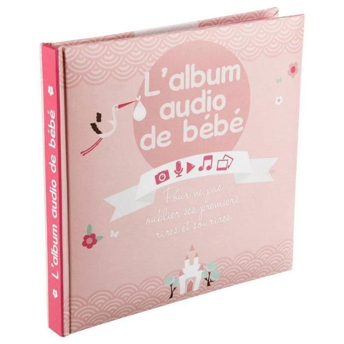 Livre Audio Bébé 16 pages fille