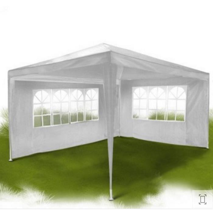 Tonnelle de jardin tente de jardin barnum imperméable- 4x3x2.5m