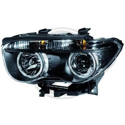 1243085 Feu phare gauche ( cote conducteur ) pour BMW Serie 7 de type E65 - E66 de 2001 a 2005 Look Origine