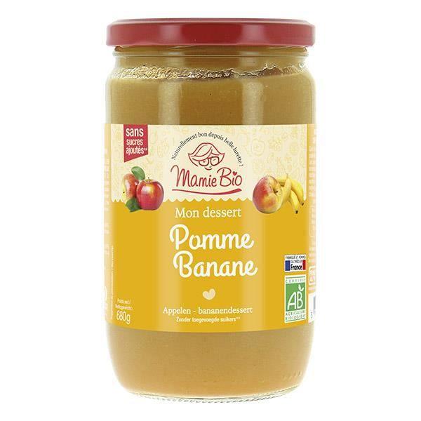 Compote pomme banane - 680g