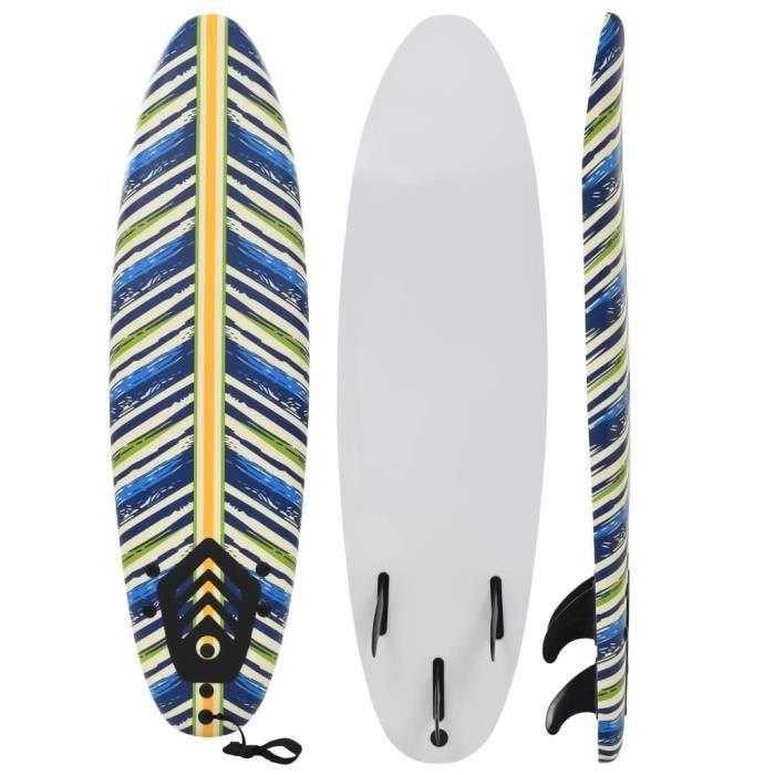 Nouveau - Planche de surf 170 cm Design de feuille *57580*