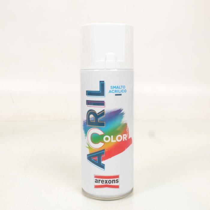Bombe de peinture Arexon Moto Gris Anthracite Mat - RAL 7016 - 400 ml Neuf