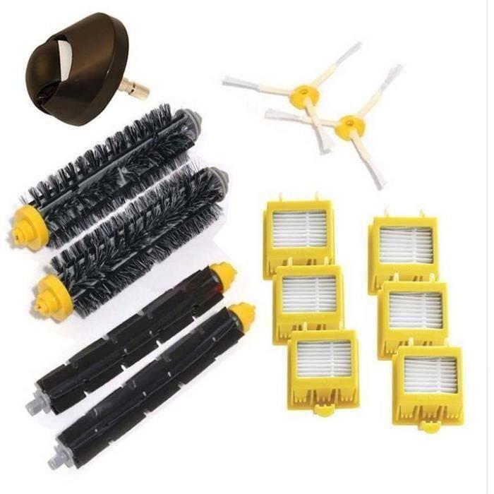 Pack 13 remplacement kit volaex + tracteur brosse + Hepa filtre + Brosse Latérale kit Pour iRobot Roomba série 700(760 770 780 790)