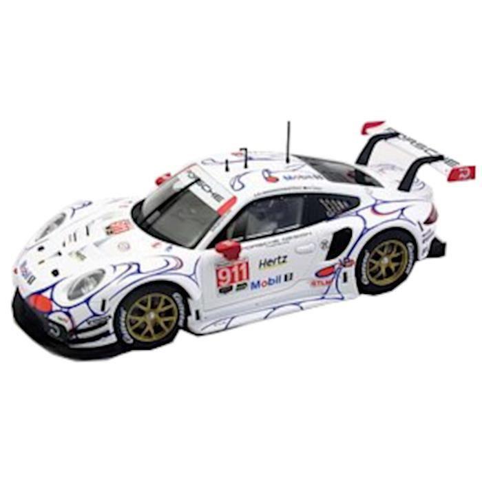 Carrera voiture de course Digital 124 Porsche 911 1:24 blanc