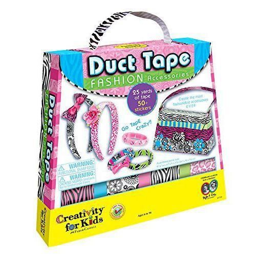 Creativity for Kids - Kit De Loisirs Créatifs - Duck Tape - Accessoires De Mode - CFK1739