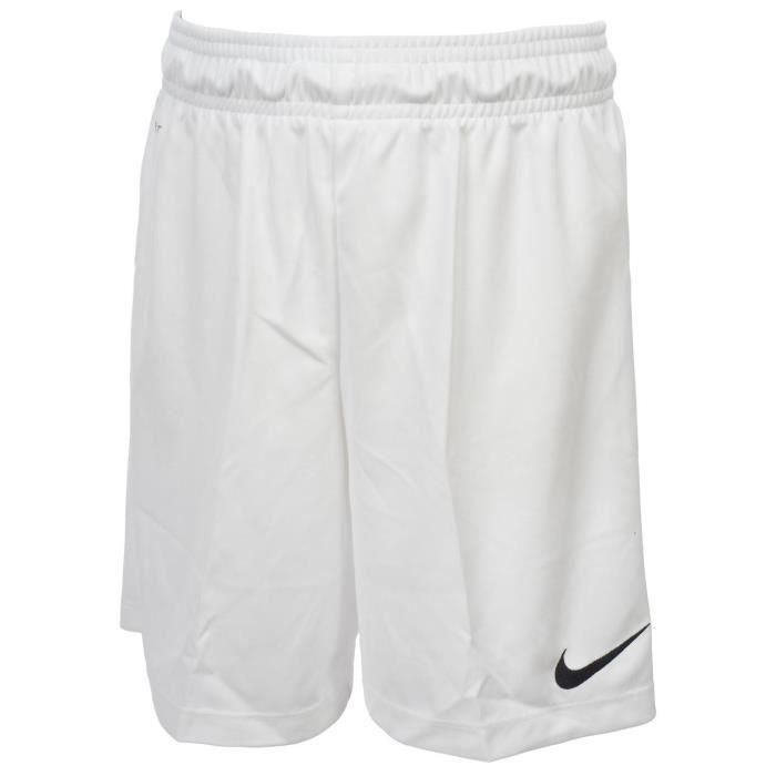 Short de football Park knit blanc short jr - Nike