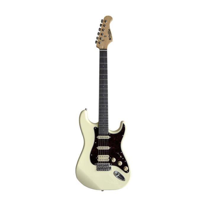 PRODIPE GUITARS ST83 RA VW - Guitare électrique Vintage White