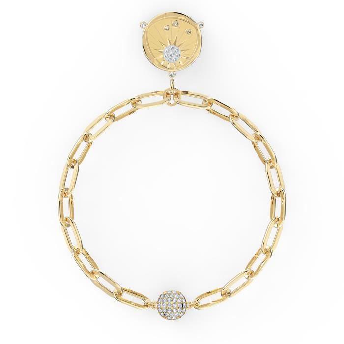 Bracelet femme - SWAROVSKI - Bracelet Swarovski The Elements Sun - Couleur de la matière:Jaune Taille/Longueur:18 cm