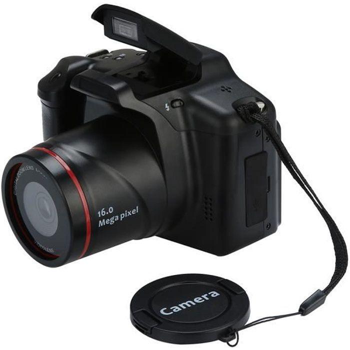 TEMPSA 16MP 1080P HD Appareil Photo Reflex USB Caméra Numérique 16X zoom