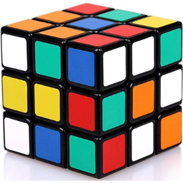 Cube de Puzzle 3D Magic Cube 3x3x3 Lisse Facile /à Tourner Twist Cube Twist fit Jeu de Formation du Cerveau ou Cadeau de No/ël pour Les Filles gar/çons Adultes Jooheli Cube de Vitesse