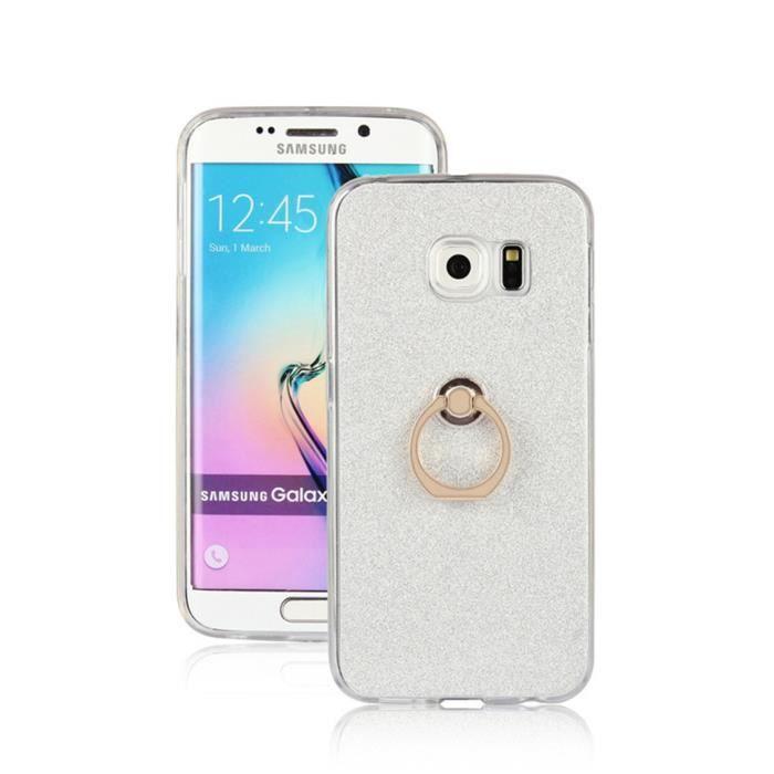 avec Anneau Support Coque Samsung Galaxy S6 Edge P