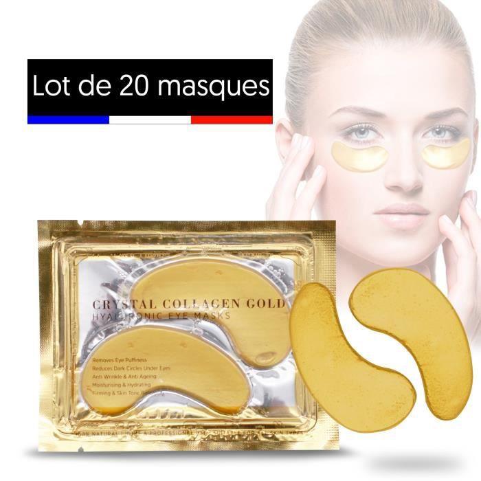 masque gel anti cerne