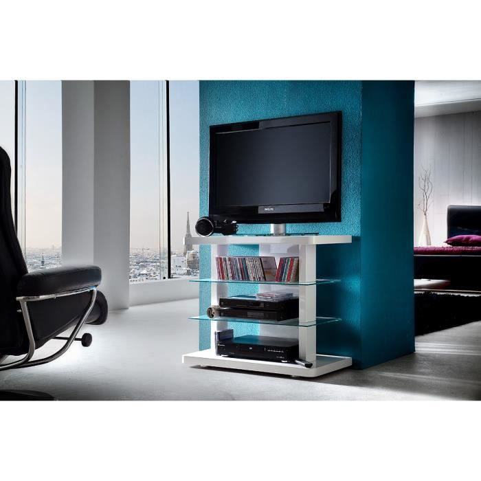 meuble tv hifi vid o 80 cm pise l 80 x p 40 x h achat vente meuble tv meuble tv hifi vid o. Black Bedroom Furniture Sets. Home Design Ideas