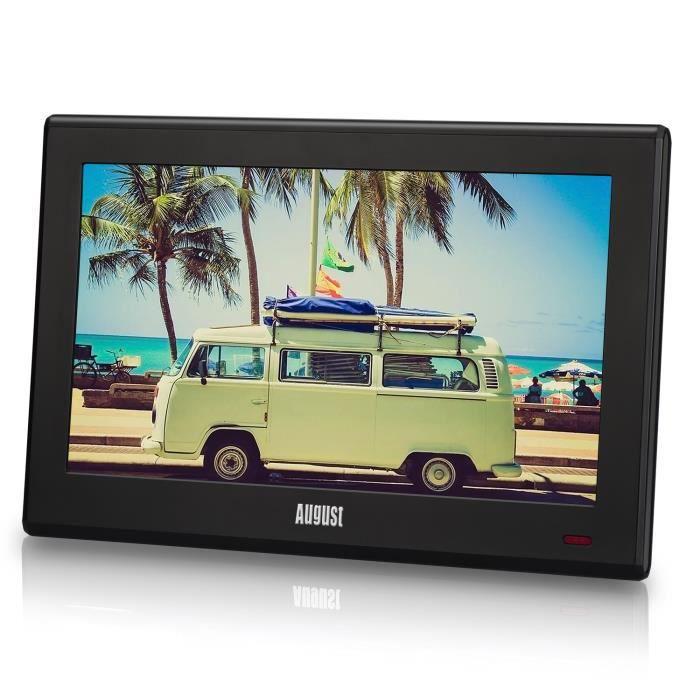 Portable HD TV avec TNT DVB-T2//DVB-T USB PVR enregistreur TV avec Timeshift 10,1 pouces petit /écran LCD num/érique
