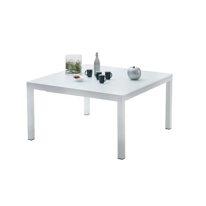 table de jardin carree whitestar 8 a 12 personnes achat. Black Bedroom Furniture Sets. Home Design Ideas