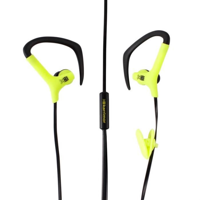 ecouteur sport running karrimor fluo casque couteur audio avis et prix pas cher cdiscount. Black Bedroom Furniture Sets. Home Design Ideas
