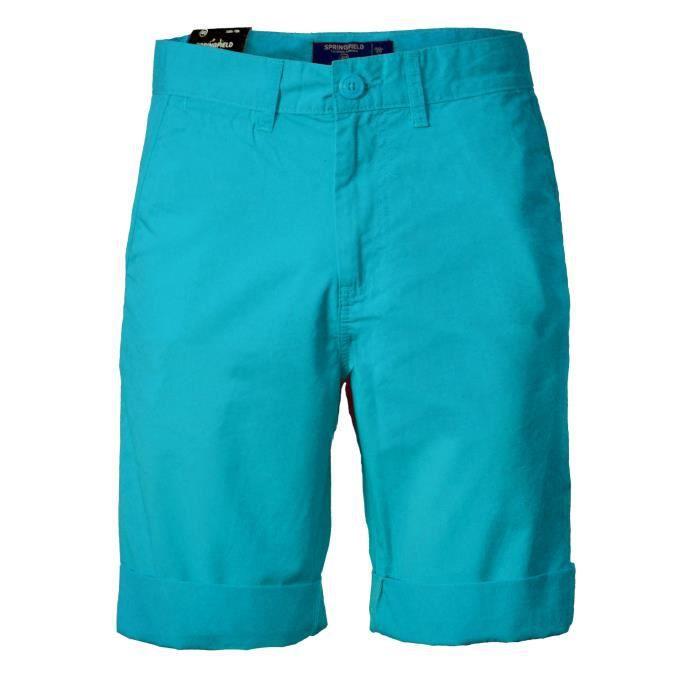 Pantalons courts pour homme Springfield Cotton