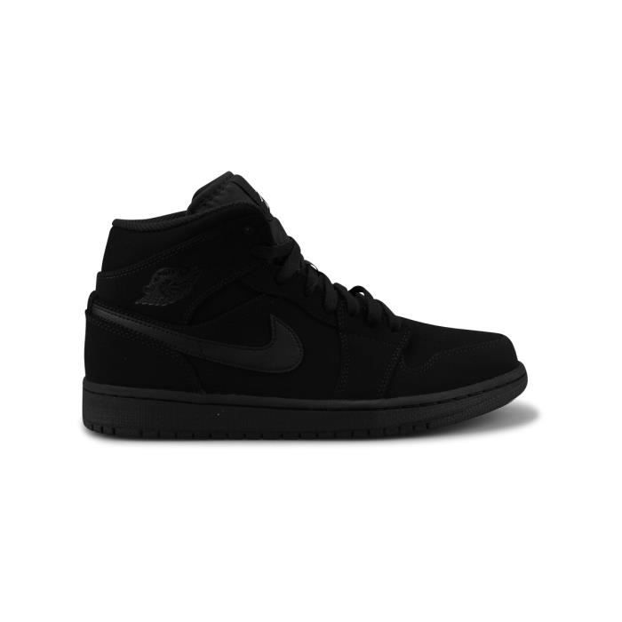 Basket Air Jordan 1 Mid Noir 554724-040