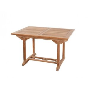 Table teck rectangle - Achat / Vente Table teck rectangle pas cher ...