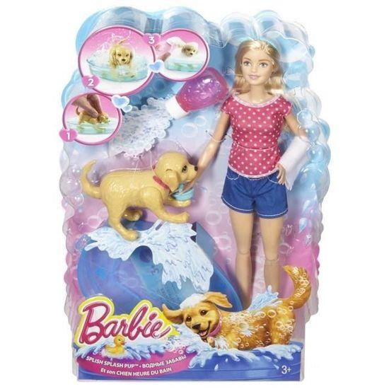 Barbie Et Son Chien Heure Du Bain