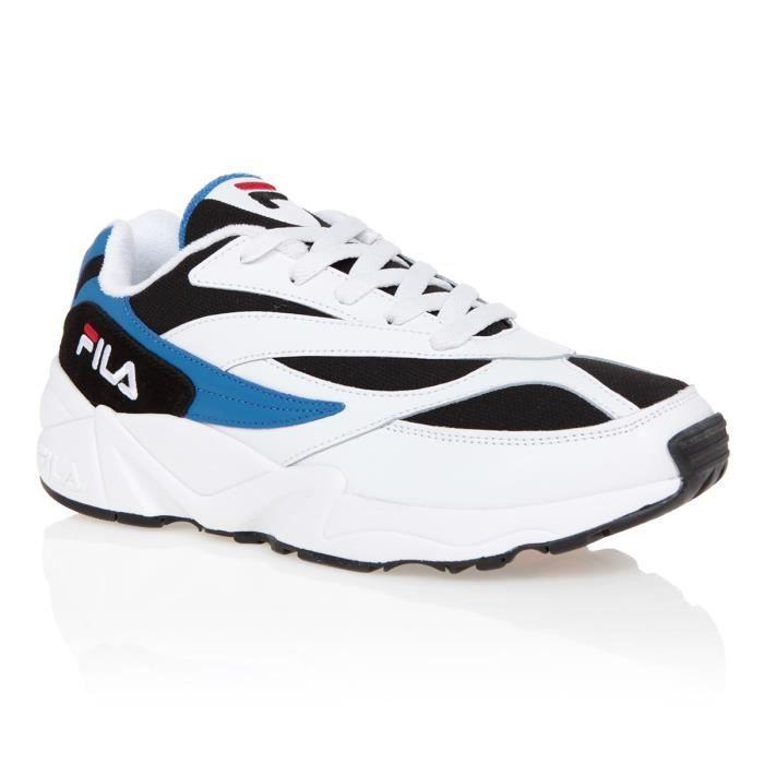 FILA Baskets Fila 94 - Homme - Blanc et Bleu