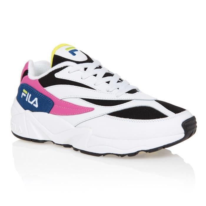 FILA Baskets Fila 94 - Femme - Blanc et Rose