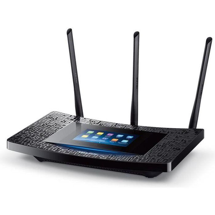 TP-LINK RE590T Répéteur WiFi double bande AC1900 avec l'écan tactile