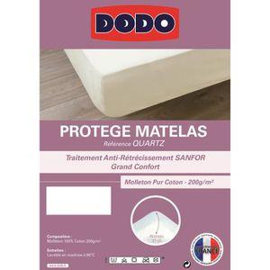 PROTÈGE MATELAS  DODO Protège Matelas QUARTZ 140x190cm Forme Housse