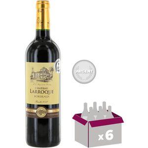 VIN ROUGE CHÂTEAU LARROQUE St-Émilion - Vin de Bordeaux - Ro